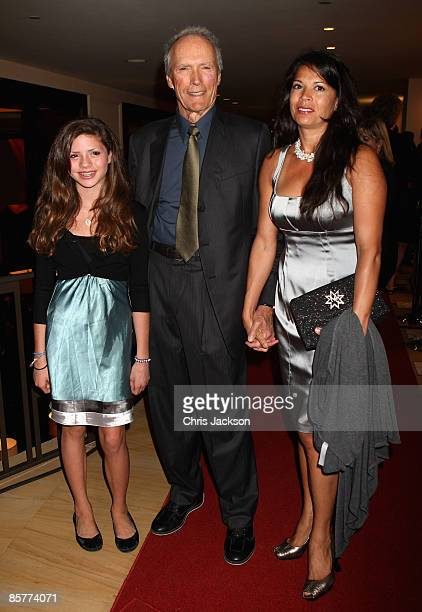 Actor Clint Eastwood and his family arrives at the Grand Opening of the new OneOnly Cape Town resort on April 2 2009 in Cape Town South Africa...