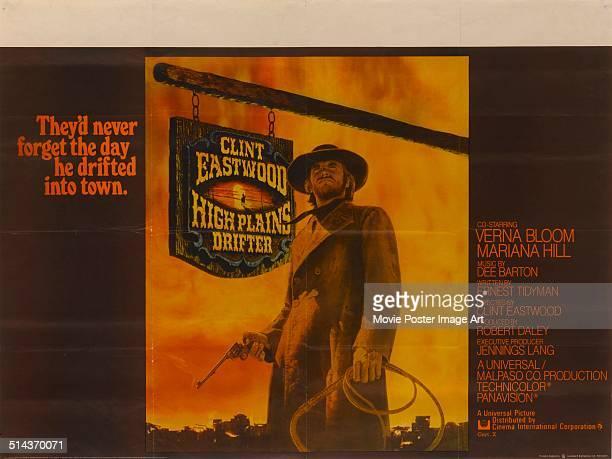 Clint Eastwood in High Plains Drifter POSTER