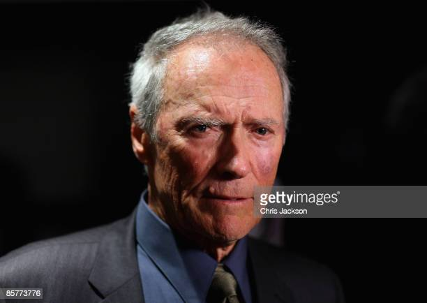 Actor Clint Eastwood arrives at the Grand Opening of the new OneOnly Cape Town resort on April 2 2009 in Cape Town South Africa Tonight is the Grand...