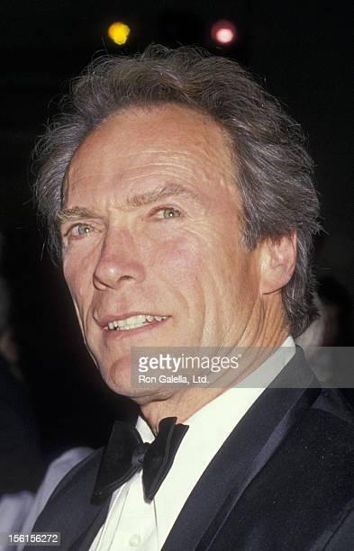 Actor Clint Eastwood attends Monteray Film Festival Golden Cypress Awards on February 21 1988 at the Hyatt Regency Hotel in Monteray California