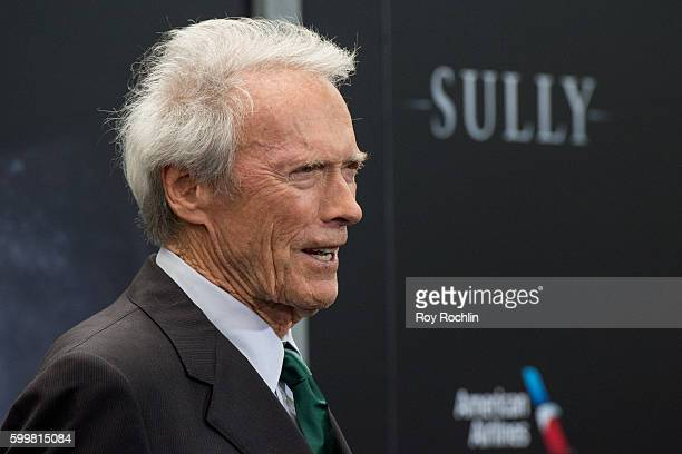 """Actor Clint Eastwood attends the """"Sully"""" New York premiere at Alice Tully Hall, Lincoln Center on September 6, 2016 in New York City."""
