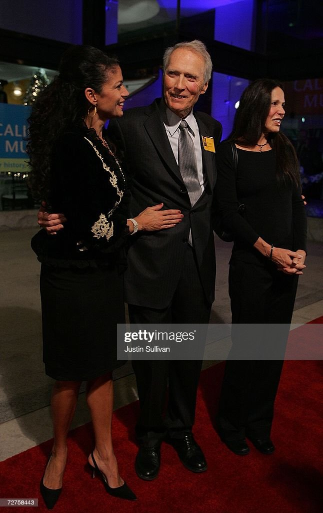 Actor Clint Eastwood, his wife Dina Eastwood (L) and Patti Davis, daughter of former U.S. president Ronald Reagan, arrive at the induction ceremony for the California Hall of Fame December 6, 2006 in Sacramento, California. The Hall of Fame, which was conceived by California first lady Maria Shriver, is inducting Alice Walker, Ronald Reagan, Cesar Chavez, Walt Disney, Amelia Earhart, Clint Eastwood, Frank Gehry, David D. Ho, Billie Jean King, John Muir, Sally Ride and the Hearst and Packard families.