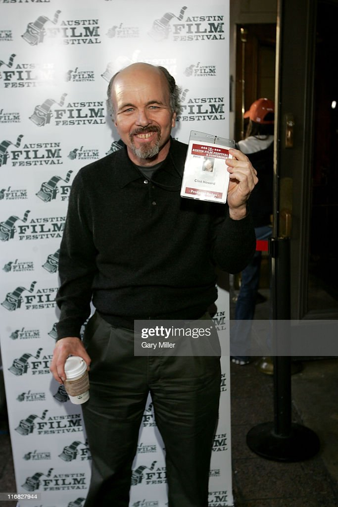 Actor Clint Howard (who played NASA EECOM Sy Liebergot) at a special screening of Ron Howard's 1995 film 'Apollo 13' at the Paramount Theater during the Austin Film Festival on October 24, 2009 in Austin, Texas.