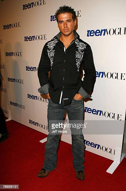 Actor Clint Mosley arrives at the Teen Vogue Young Hollywood Party at Vibiana on September 20 2007 in Los Angeles California
