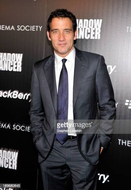 Actor Clive Owen attends a screening of Magnolia Pictures' Shadow Dancer hosted by The Cinema Society BlackBerry at Sunshine Landmark on May 30 2013...