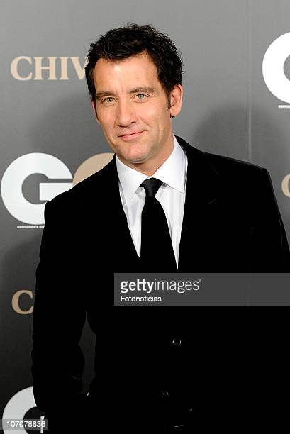 Actor Clive Owen attends GQ Awards 2010 ceremony at the Palace Hotel on November 22 2010 in Madrid Spain