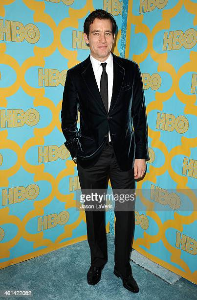 Actor Clive Owen attends HBO's post Golden Globe Awards party at The Beverly Hilton Hotel on January 11 2015 in Beverly Hills California