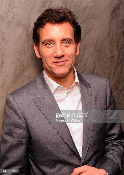 Actor Clive Owen attends the after party for the Giorgio Armani The Cinema Society screening of Intruders at The Double Seven on March 19 2012 in New...