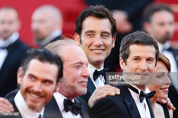 Actor Clive Owen attends the 'Blood Ties' Premiere during the 66th Annual Cannes Film Festival at the Palais des Festivals on May 20 2013 in Cannes...