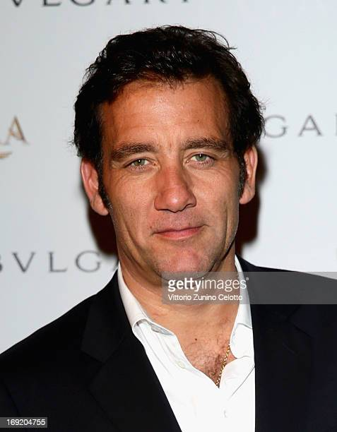 Actor Clive Owen attends the 'Cleopatra' cocktail hosted by Bulgari during The 66th Annual Cannes Film Festival at JW Marriott on May 21 2013 in...