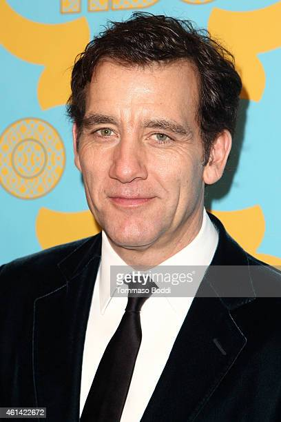Actor Clive Owen attends the HBO'S Post Golden Globe Party held at The Beverly Hilton Hotel on January 11 2015 in Beverly Hills California