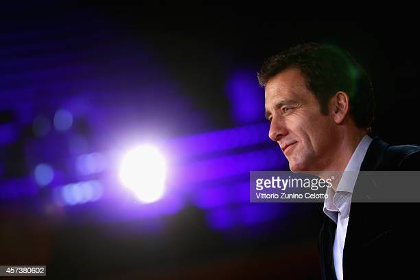 Actor Clive Owen attends 'The Knick' Red Carpet during The 9th Rome Film Festival at Auditorium Parco Della Musica on October 17 2014 in Rome Italy