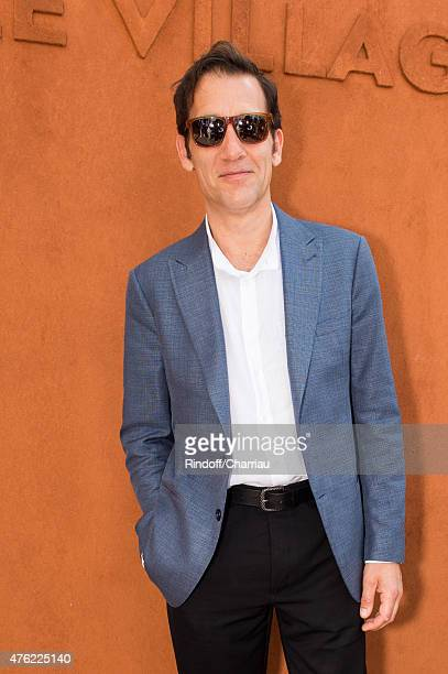 Actor Clive Owen attends the Men Final of 2015 Roland Garros French Tennis Open Day Fithteen on June 7 2015 in Paris France