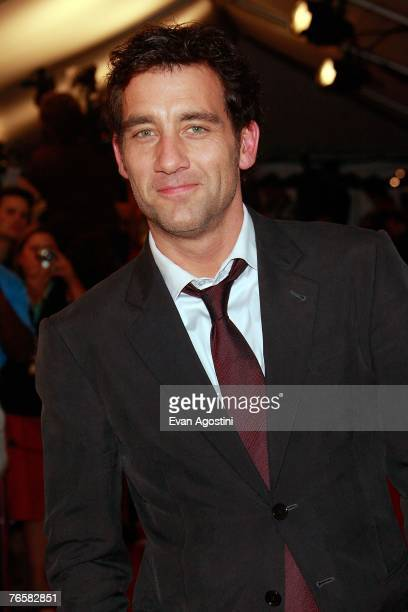 Actor Clive Owen attends the Michael Clayton North American Premiere screening during the Toronto International Film Festival 2007 held at the...