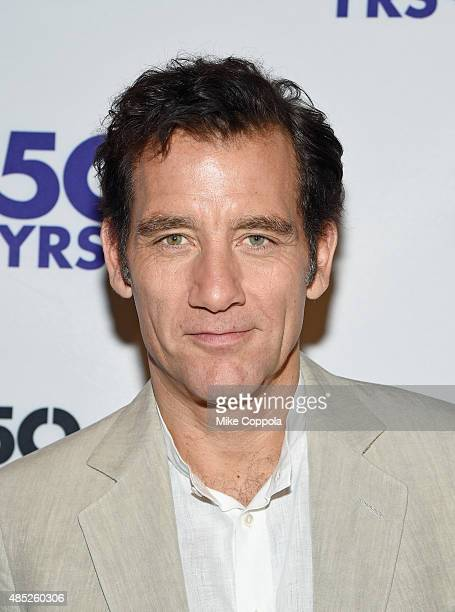 Actor Clive Owen attends the 'Old Times' Broadway Cast Photocall on August 26 2015 in New York City