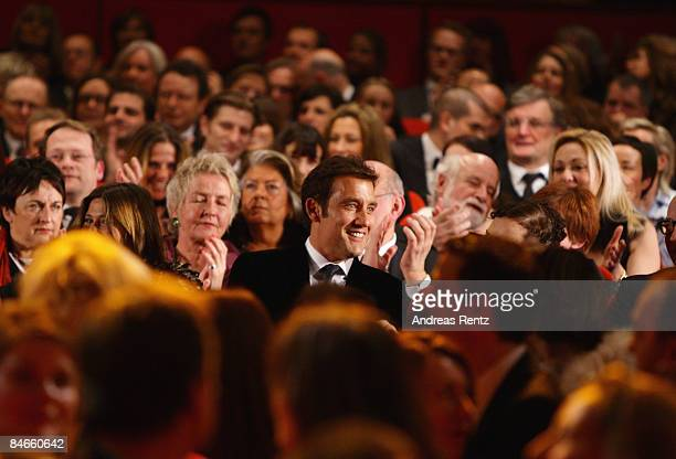 Actor Clive Owen attends the opening ceremony as part of the 59th Berlin Film Festival at the Berlinale Palast on February 5 2009 in Berlin Germany