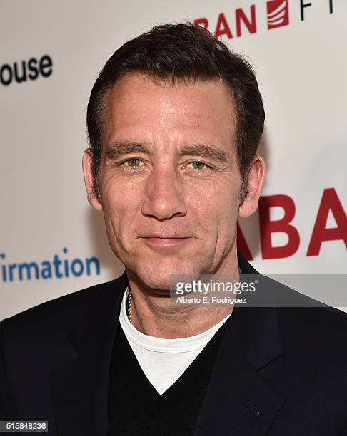 Actor Clive Owen attends the premiere of Saban Films' 'The Confirmation' on March 15 2016 in Los Angeles California