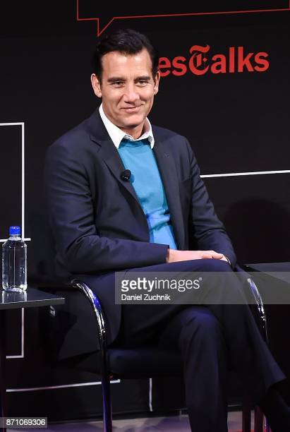 Actor Clive Owen attends the Times Talk to discuss 'M Butterfly' at TheTimesCenter on November 6 2017 in New York City