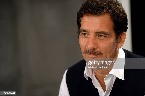 Actor Clive Owen attends the Variety Studio presented by Moroccanoil at Holt Renfrew during the 2013 Toronto International Film Festival on September...