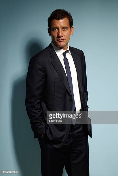 Actor Clive Owen of 'Intruders' poses during the 2011 Toronto Film Festival at Guess Portrait Studio on September 12 2011 in Toronto Canada