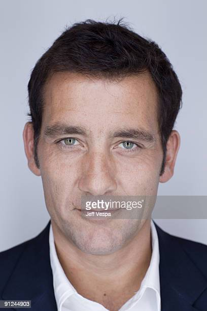Actor Clive Owen poses for a portrait session at the 2009 Toronto Film Festival on September 15 2009