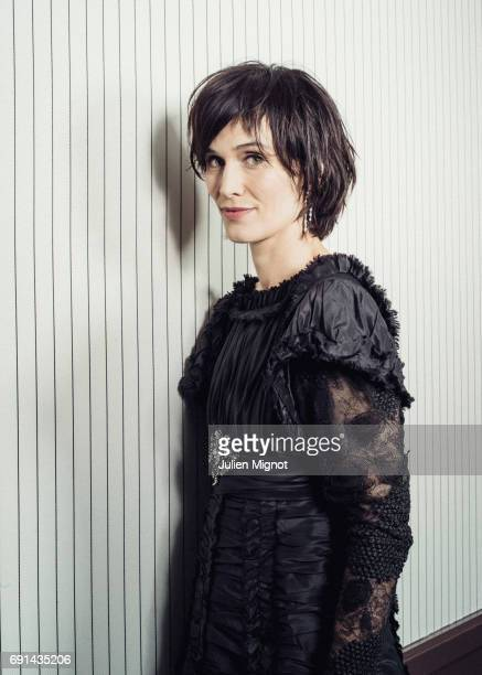 Actor Clotilde Hesme is photographed for Grazia magazine on May 23 2017 in Cannes France Published Image
