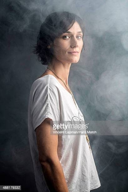 Actor Clotilde Hesme is photographed for Paris Match on August 31, 2015 in Paris, France.