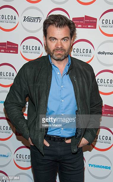 Actor Clovis Cornillac attends the COLCOA French Film Festival at Directors Guild Of America on April 25 2015 in Los Angeles California