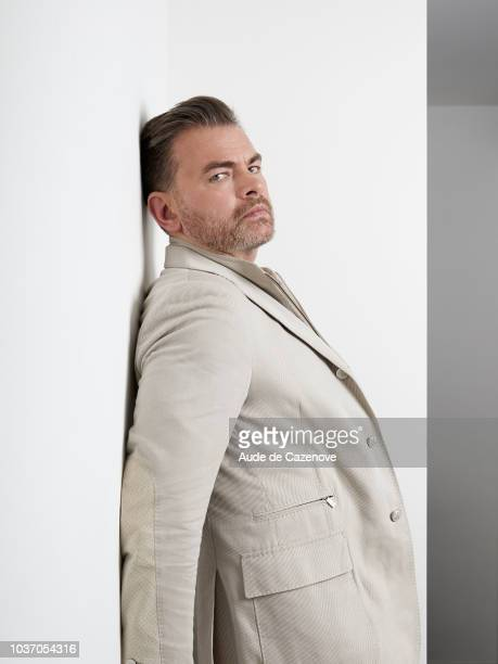 Actor Clovis Cornillac is photographed for Self Assignment on May 2018 in Cannes France
