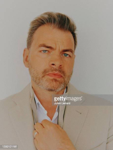Actor Clovis Cornillac poses for a portrait on May 2018 in Cannes France