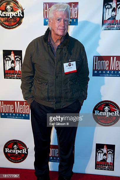 Actor Clu Gulager appears on the red carpet for the 2010 Reaper Awards at The Roosevelt Hotel on October 12 2010 in Hollywood California