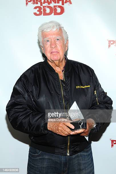 Actor Clu Gulager arrives at the premiere of 'Pirahna 3DD' at Mann Chinese 6 on May 29, 2012 in Los Angeles, California.