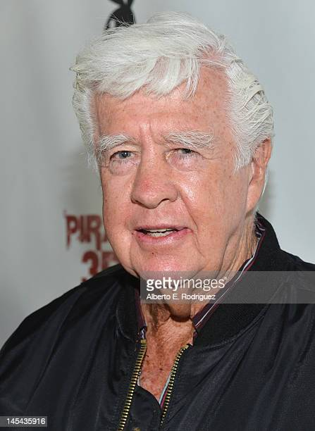 Actor Clu Gulager arrives to the premiere of Dimension Films' Piranha 3DD at Mann Chinese 6 on May 29 2012 in Los Angeles California
