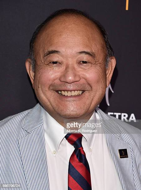 Actor Clyde Kusatsu attends the Television Academy And SAGAFTRA's 4th Annual Dynamic and Diverse Celebration at The Saban Media Center on August 25...