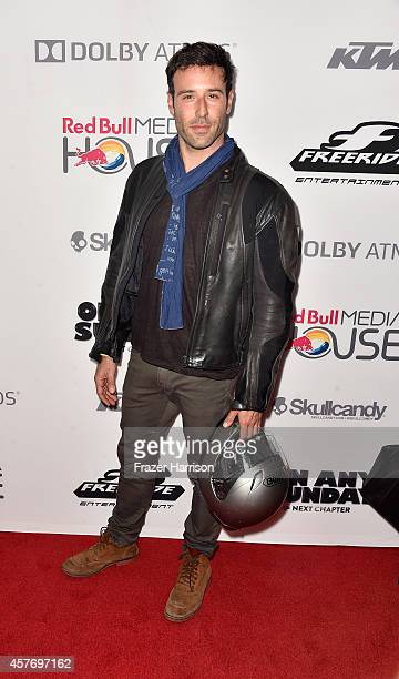 Actor Coby Ryan McLaughlin arrives a the Premiere Of Red Bull Media House's On Any Sunday The Next Chapter at Dolby Theatre on October 22 2014 in...