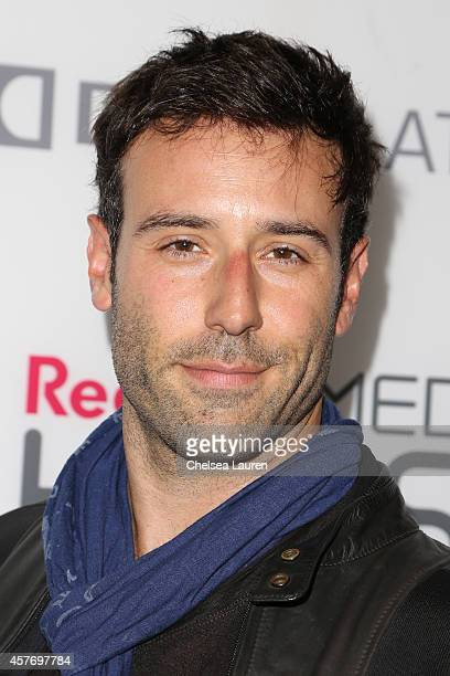Actor Coby Ryan McLaughlin arrives at the On Any Sunday The Next Chapter a film from Red Bull Media House premiere at Dolby Theatre on October 22...
