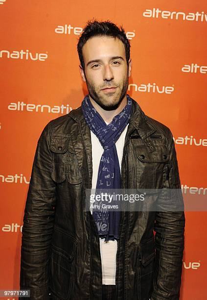 Actor Coby Ryan McLaughlin attends Alternative Apparel's Fall 2010 Collection Presentation on March 22 2010 in Los Angeles California