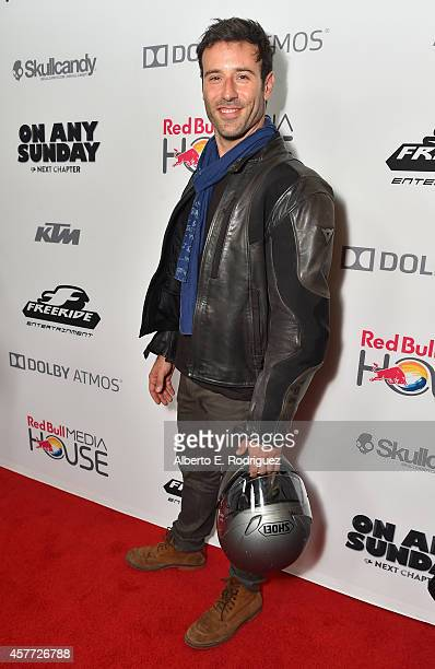 Actor Coby Ryan McLaughlin attends the Premiere Of Red Bull Media House's On Any Sunday The Next Chapter at Dolby Theatre on October 22 2014 in...