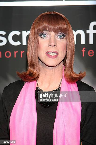 """Actor Coco Peru attends the Screamfest 2011 """"Vamperifica"""" screening held at the Mann Chinese 6 on October 18, 2011 in Los Angeles, California."""