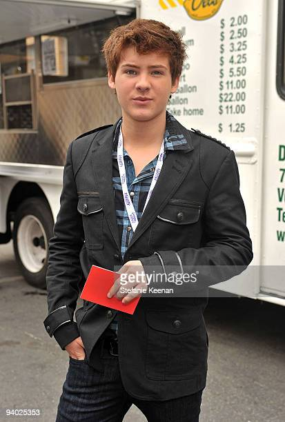 Actor Cody Christian attends Variety's 3rd annual 'Power of Youth' event held at Paramount Studios on December 5 2009 in Los Angeles California
