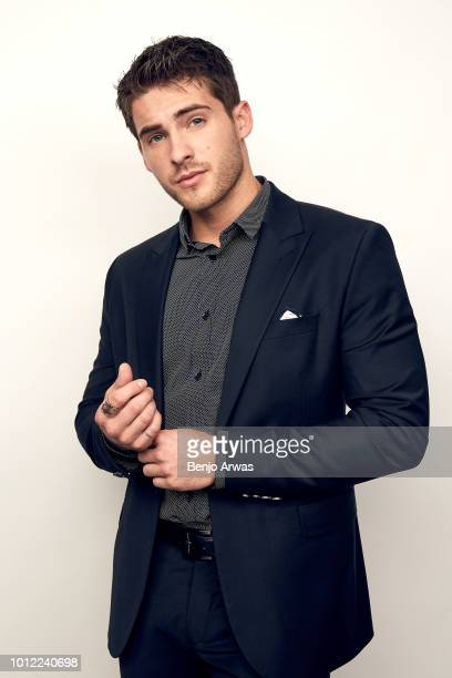 Actor Cody Christian of CW's 'All American' poses for a portrait during the 2018 Summer Television Critics Association Press Tour at The Beverly...