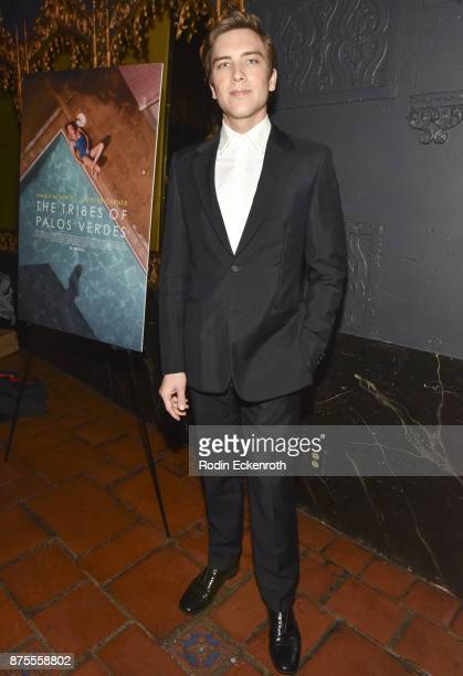 Actor Cody Fern arrives at the premiere of IFC Films' The Tribes of Palos Verdes at The Theatre at Ace Hotel on November 17 2017 in Los Angeles...