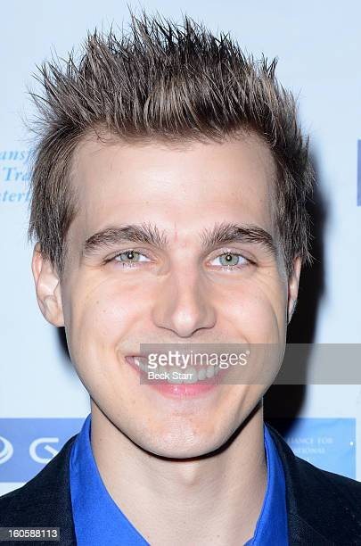 Actor Cody Linley arrives at 'GATE' Global Alliance For Transformational Entertainment's 3rd annual green carpet event at Saban Theatre on February 2...