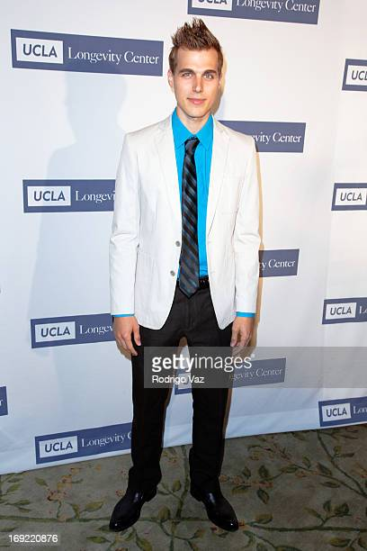 Actor Cody Linley arrives at the 2013 Icon Awards Gala at Beverly Hills Hotel on May 21 2013 in Beverly Hills California