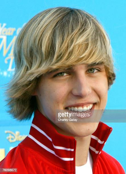 Actor Cody Linley arrives to the world premiere of Disney Channel's High School Musical 2 held at the Downtown Disney District at Disneyland Resort...