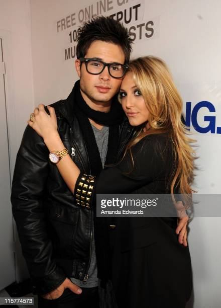 Actor Cody Longo and Actress Cassie Scerbo attend Variety's 3rd annual Power of Youth event held at Paramount Studios on December 5 2009 in Los...