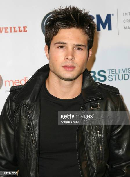 Actor Cody Longo arrives at the Junior Hollywood Radio & Television Society's 7th annual 'Young Hollywood' holiday party held at My House on December...