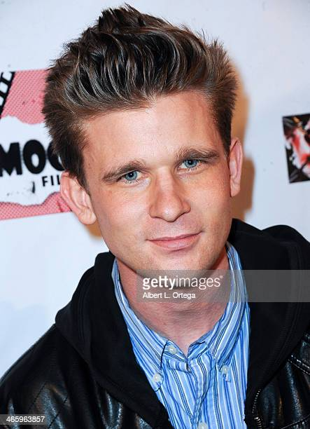 Actor Cody Mullins attends the ShockFest Film Festival Awards held at Raleigh Studios on January 11 2014 in Los Angeles California