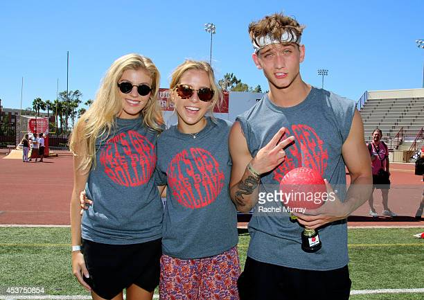 Actor Cody Saintgnue and guests attend Kickball For A Home Celebrity Challenge presented by Dave Thomas Foundation For Adoption at USC on August 16...