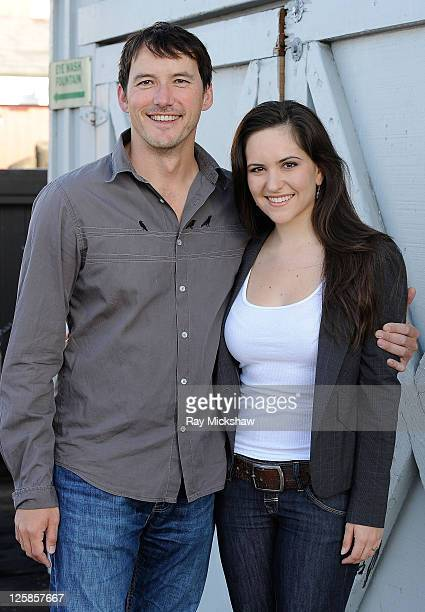Actor Cohen Holloway and Actress Inge Rademeyer of Good for Nothing attend the Filmmaker and Press Meet and Greet Breakfast at Moby Dick on January...